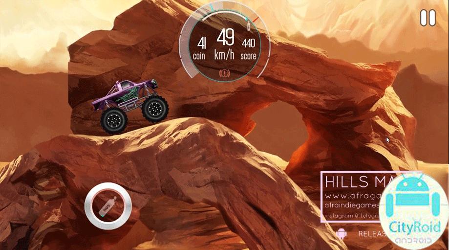 دانلود بازی Emergency hills v1.2 ماشین سواری تپه های هیجانی برای اندروید